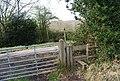 Stile, Flitterbrook Lane - geograph.org.uk - 1251952.jpg