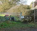 Stile on Public Footpath leaving road between Nuthurst and Maplehurst, West Sussex - geograph.org.uk - 86114.jpg