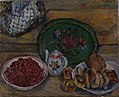 Still Life with a Tray and Strawberries by Aristarkh Lentulov (1936).jpg