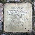 Stolperstein Bruchsaler Str 12 (Wilmd) Gertrud Krisch.jpg