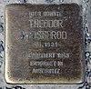 Stolperstein Hirschberger Str 2 (Rumbg) Theodor Weissbrod.jpg