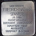 Stolperstein Kalkar Monrestraße 22 Friedrich Nathan Spanier.jpg