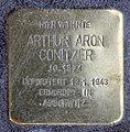 Stolperstein Krefelder Str 7 (Moabi) Arthur Aron Conitzer.jpg