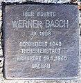 Stolperstein Martin-Luther-Str 53 (Schön) Werner Basch.jpg