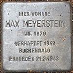Stolperstein Max Meyerstein Jena 2014.jpg