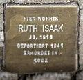 Stolperstein Remscheid Gänsemarkt 24 Ruth Isaak.jpg