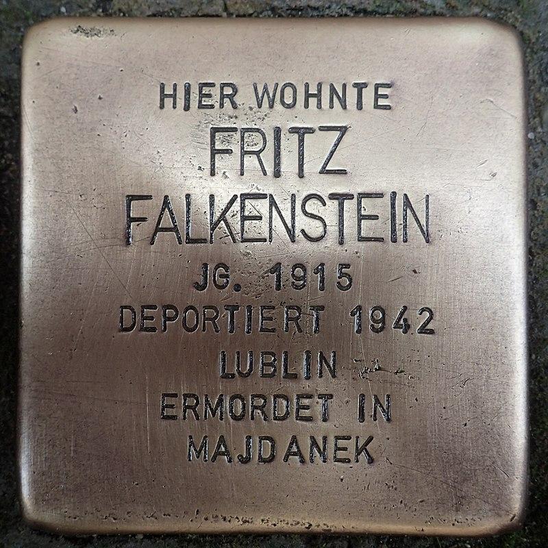 Stolperstein für Fritz Falkenstein
