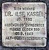 Stolperstein Wachsmuthstr 9 (Hermd) Ilse Kassel.jpg