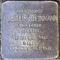 Stolpersteine Köln, Rosalie Steinmann (Nikolausplatz 5).jpg