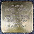 Stolpersteine Krefeld, Leopold Spanier (Hohenzollernstraße 46).jpg