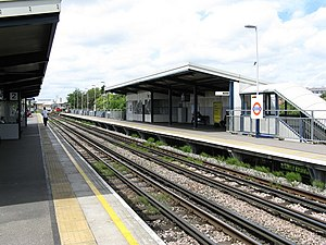 Stonebridge Park station - Image: Stonebridge Park station, London Transport geograph.org.uk 879904