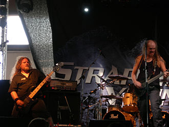 Strapping Young Lad - Stroud and Townsend in concert in 2006