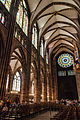 Strasbourg, France, nave of the Cathedral, looking west.jpg