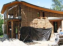 Hay Building House