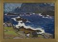 Study during a Storm. From Lofoten (Anna Boberg) - Nationalmuseum - 20508.tif