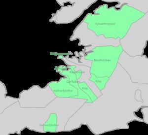 Southwest (Icelandic constituency) - Image: Suðvesturkjördæmi