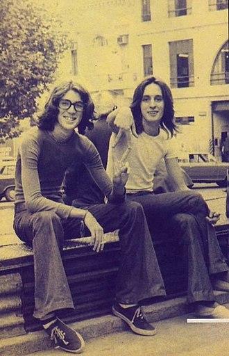 Charly García - Sui Generis: García and Nito Mestre in 1972.