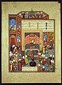 Sultan Mahmud von Ghazna empfaengt den Dichter Ferdausi Museum fuer Islamische Kunst.jpeg