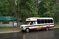 Sun Tours Bus at Apgar Visitor Center (6312910001).jpg