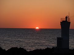 Sunset Senkaku