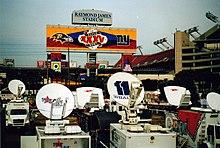 Super Bowl XXXV 2001 Khaki Hat Ruffles Tampa FL