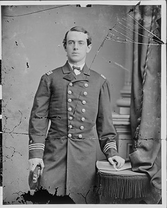 Union Navy - Lt. Benjamin Porter killed at the Battle of Ft Fisher