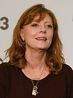 Photo of Susan Sarandon at the Festival de Sitges 2017.