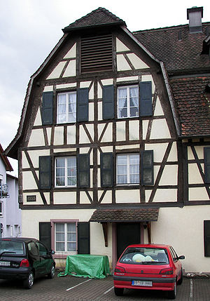 John Sutter - The birthplace of John Sutter in Kandern, Baden, Germany.