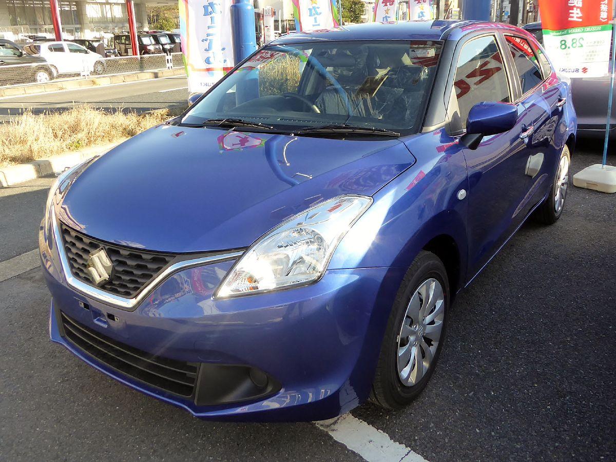 Suzuki BALENO XG (DBA-WB32S) front.JPG