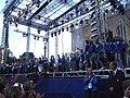 Svenska friidrottslandslaget i EM 2006 avtackas på Götaplatsen, 13 augusti 2006 (4).jpg