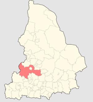 Prigorodny District, Sverdlovsk Oblast - Image: Sverdlovsaya oblast ATD 2006 Gornouralsky GO