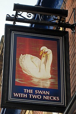 Swan With Two Necks sign - geograph.org.uk - 1013807