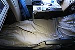 Swiss LX-SWR Business Class bed lie flat.JPG