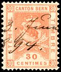 Switzerland Bern 1893 revenue 30c - 54 III-93 3-K.jpg
