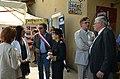 Sylvia Pinel, ministre du Tourisme, visitant le Bistrot de pays de Niozelles.jpg