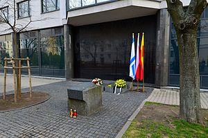 Szmul Zygielbojm - Zygelbojm's memorial in Warsaw