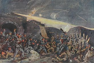 Galicia (Eastern Europe) - Siege of Przemyśl in 1915