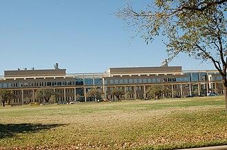 Campus of Texas A&M University - Interdisciplinary Life Sciences building