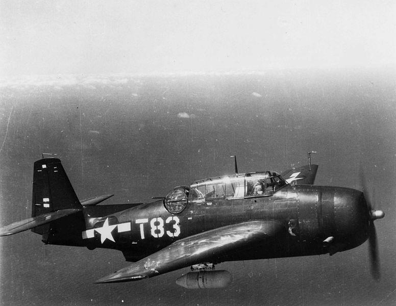 File:TBM-3E Avenger VMTB-234 in flight 1945.jpeg