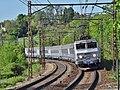 TER Genève-Chambéry à Viviers-du-Lac (mai 2016).JPG