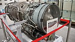 TF40-IHI-801A turbofan engine right front view at Archive room of JASDF Miho Air Base May 28, 2017.jpg