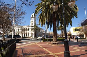 Tamworth, New South Wales - Post Office Town Clock