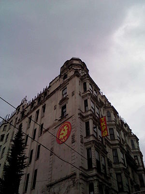 Communist Party of Turkey (current) - Party office in Istanbul