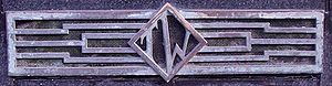 Timothy Whites - The Timothy Whites logo on this ventilator grille is still in place in 2009