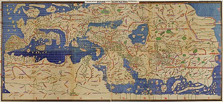 Muhammad al idrisi wikipedia the tabula rogeriana drawn by al idrisi for roger ii of sicily in 1154 one of the most advanced ancient world maps modern consolidation created from gumiabroncs Images
