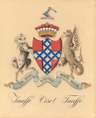 Viscount Taaffe - The Taaffe family arms