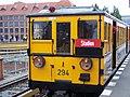 Tag des offenen Denkmals 2007 U-Bahn Berlin Baureihe AI Bahnhof Warschauer Strasse.jpg