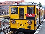 Tag des offenen Denkmals 2007 U-Bahn Berlin Baureihe AI Bahnhof Warschauer Strasse