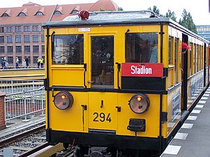 1902 in rail transport - Berlin U-Bahn