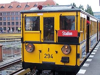 1902 in rail transport - Berlin U-Bahn